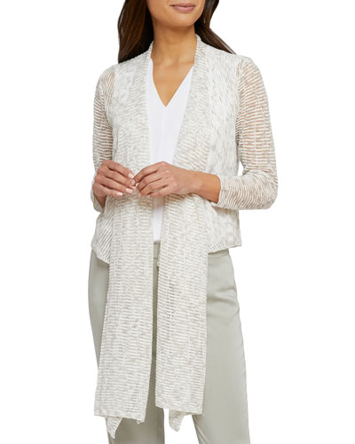 Shining Moment Open-Front Cardigan