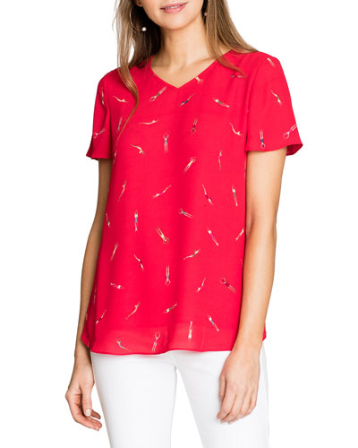 Bathing Beauties Printed Short-Sleeve Tee