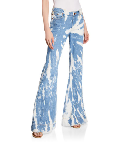 Beautiful Mid-Rise Bell Jeans