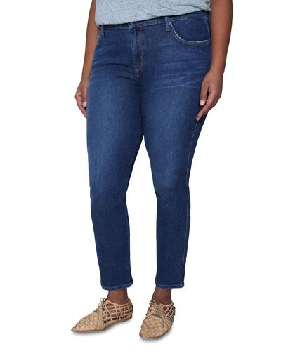 Plus Size Pencil Twiggy Ankle Cigarette Jeans