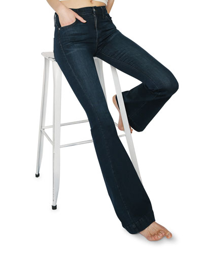 Shayebel High-Rise Flare Jeans