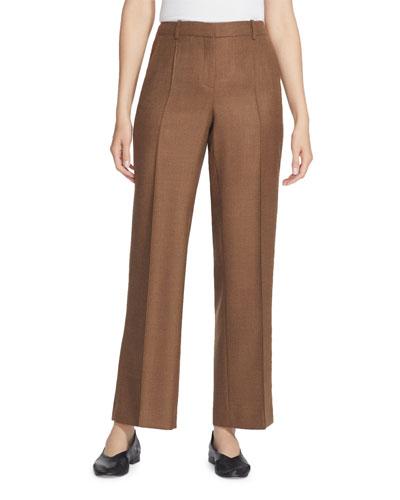 Winthrop Euphoric Melange Cloth Wool Pants