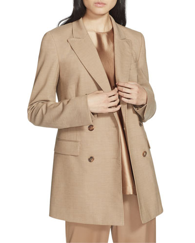 Slade High-Line Double-Breasted Suiting Jacket