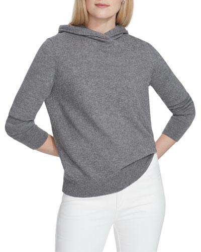 Merino/Cashmere Hoodie Sweater