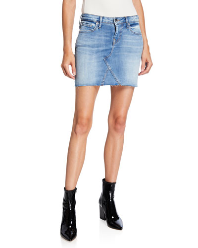 129eddfd26 Quick Look. True Religion · Cutoff Denim Mini Skirt