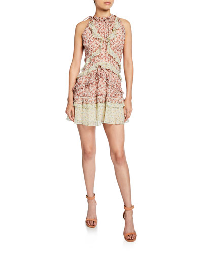 0e70620356d3 Sleeveless Silk Shift Dress | Neiman Marcus