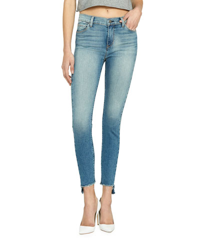 Barbara High-Rise Cropped Skinny Jeans