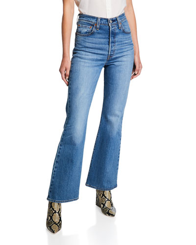 Ribcage High-Rise Flare Jeans