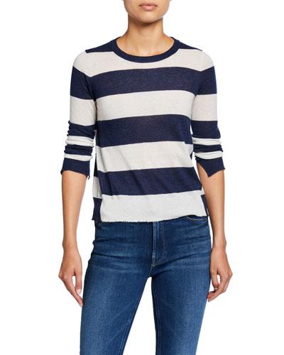 Source Cashmere Striped Sweater