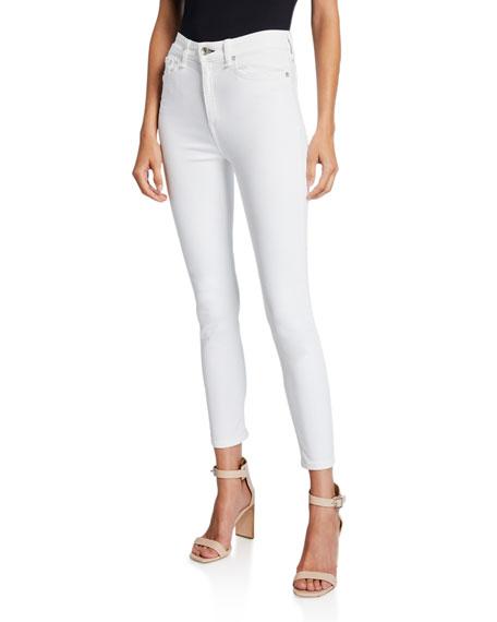 Rag & Bone High-Rise Ankle Skinny Jeans