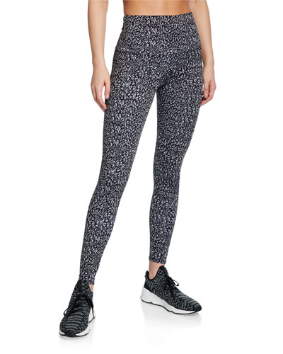 Printed Tech High-Rise Leggings