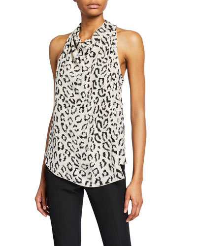 be82b155b787 Black Cowl Neck Top | Neiman Marcus