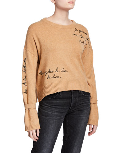 Josephine Embroidered Pullover