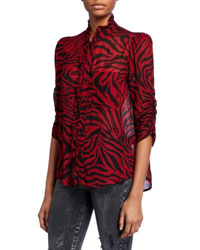 9e38a419df Print Knit Top | Neiman Marcus