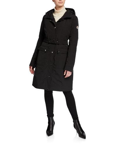 Lorado Hooded A-Line Jacket