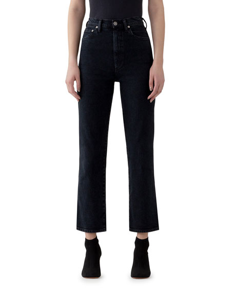 AGOLDE Pinch Waist High-Rise Straight Jeans