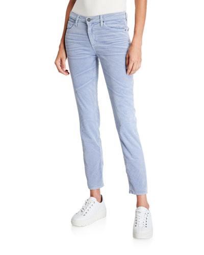 Prima Mid-Rise Cigarette Ankle Jeans