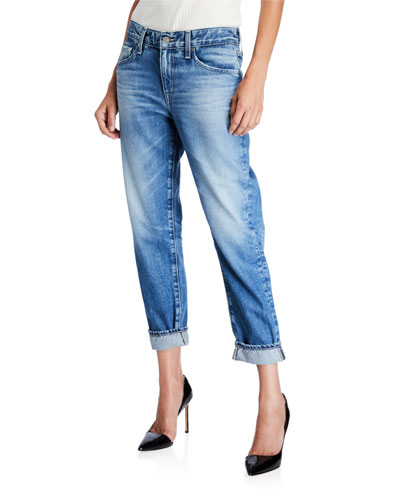 The Ex-Boyfriend Mid-Rise Tapered Jeans
