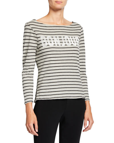 Bonjour Breton Striped Top