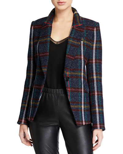 Zane Plaid Dickey Jacket
