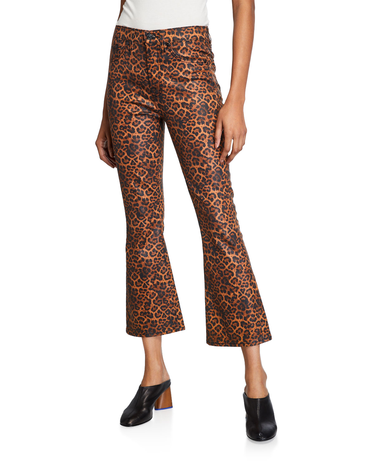 7 For All Mankind Jeans HIGH-WAIST SLIM KICK FLARE JEANS