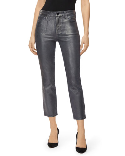 Ruby High-Rise Cigarette Crop Jeans