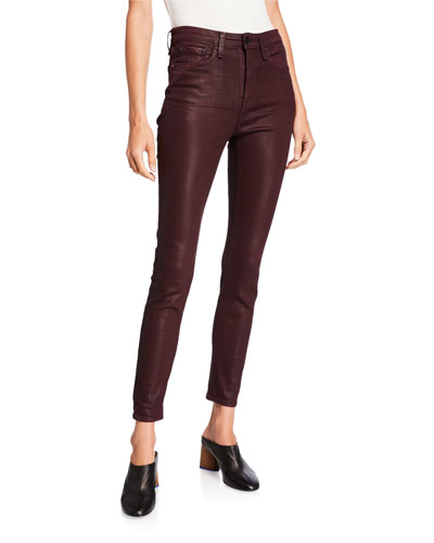 Nina High-Rise Ankle Skinny Jeans
