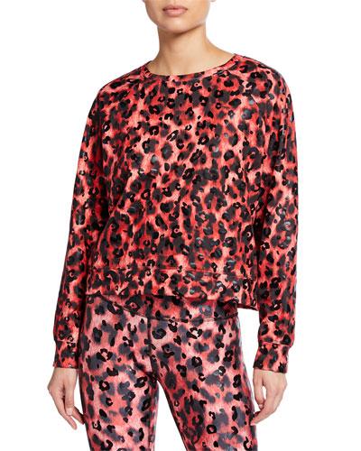 Cheetah Balayage Crewneck Sweatshirt