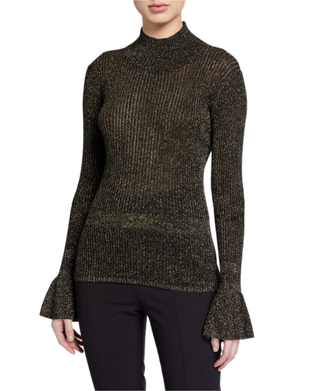 Veronica Beard Lilia Turtleneck Sweater