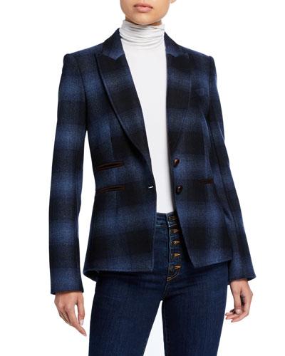 Hudson Plaid Dickey Jacket