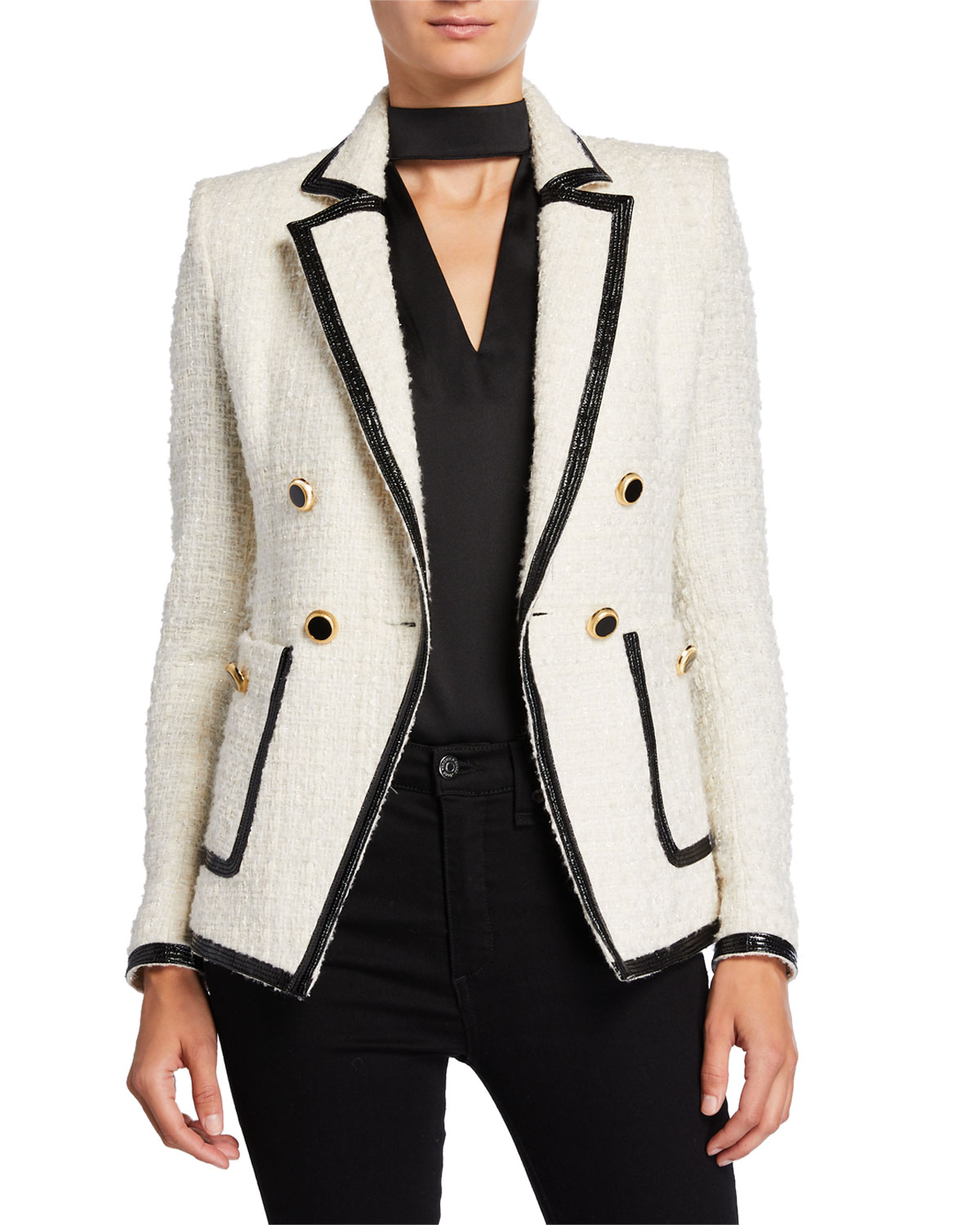 Veronica Beard Jackets CATO TWEED JACKET