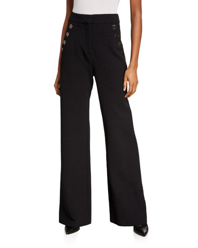 Tuli Wide-Leg Pants - Extended Sizes