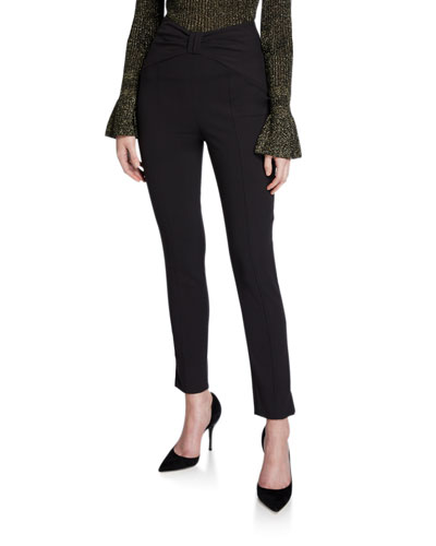 Ferdinand High-Rise Ankle Pants