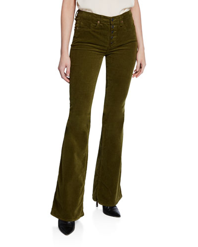 Beverly High-Rise Flare Corduroy Jeans