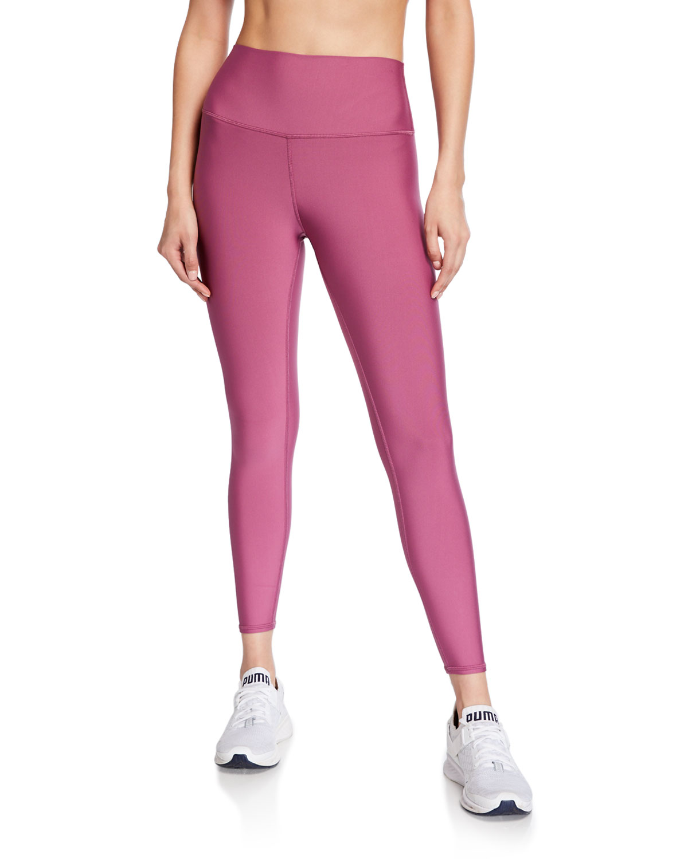 Alo Yoga Pants AIRLIFT HIGH-RISE 7/8 LEGGINGS