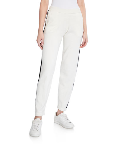Cotton-Cashmere Pull-On Sweater Pants