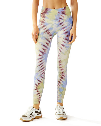 Seamless Tie-Dye Leggings