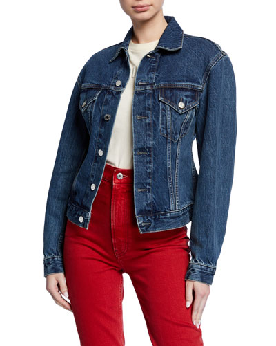 Femme Denim Trucker Jacket