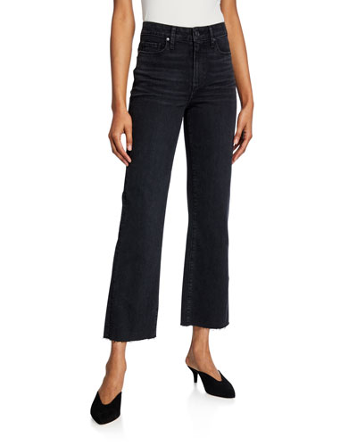 Ately Ankle Flare-Leg Jeans