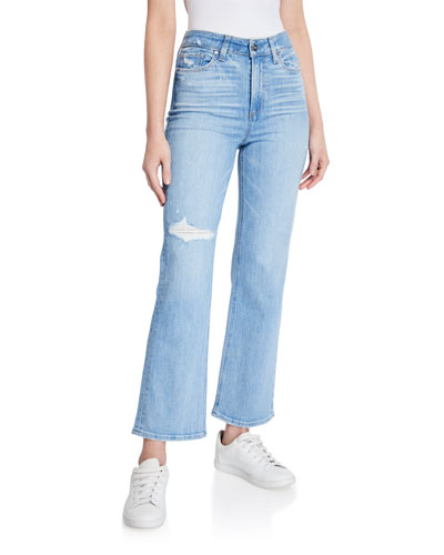 Ately Mid-Rise Ankle Flare Jeans