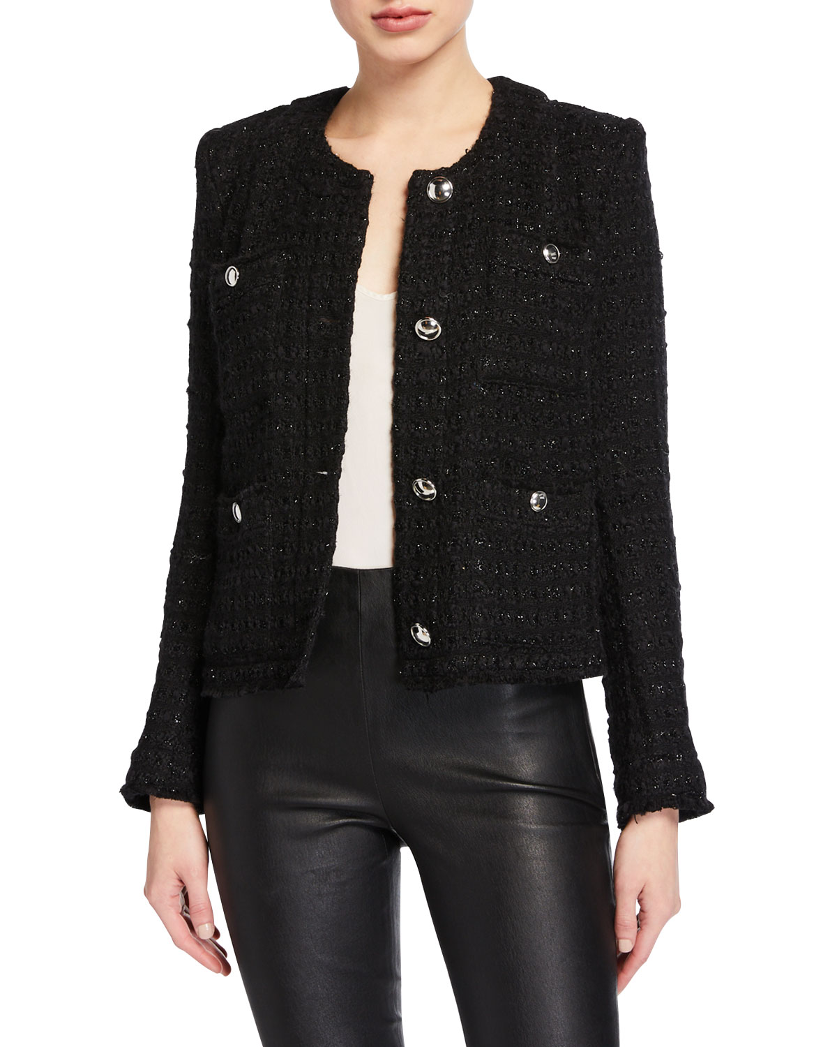 Iro Cottons TETYS BOXY TWEED JACKET
