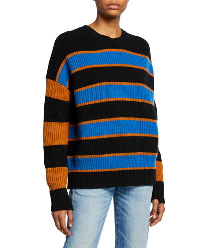 Roman Striped Lambswool Sweater