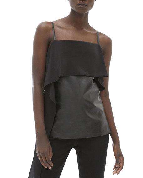 Helmut Lang Leather Slip Top