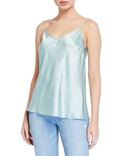 Cicely Silk Camisole w/ V-Back