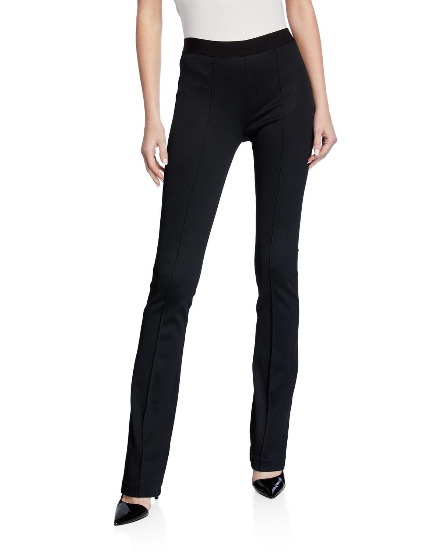 Full-Length Flare Ponte Legging Pants