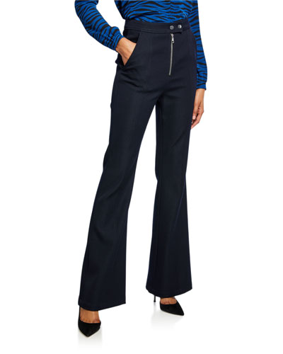 Ray High-Rise Flare Pants