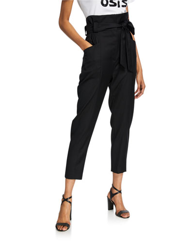 Paxi Paperbag Trousers