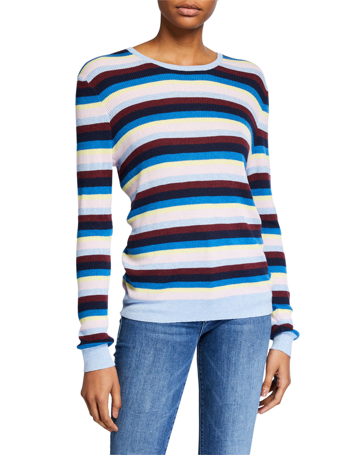Kule Sweaters THE LUCIA STRIPED SWEATER