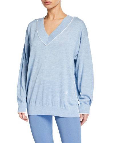 Performance V-Neck Sweater