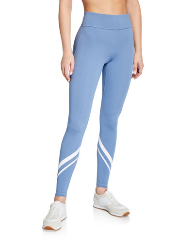 Chevron Melange High-Rise Pocket Leggings